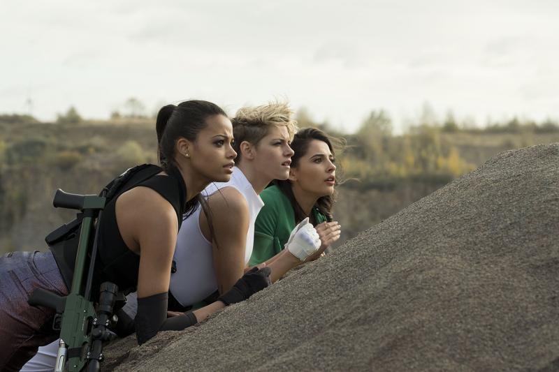 Charlie's Angels: Ella Balinska, Kristen Stewart, Naomi Scott