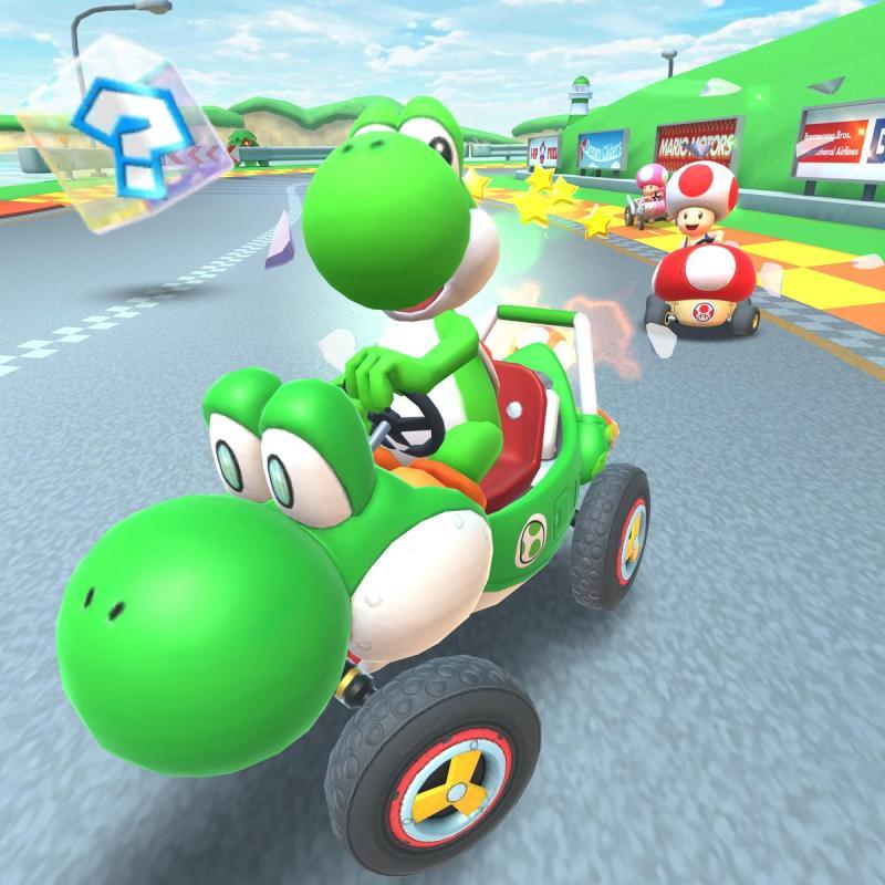 Mario Kart Tour Yoshi