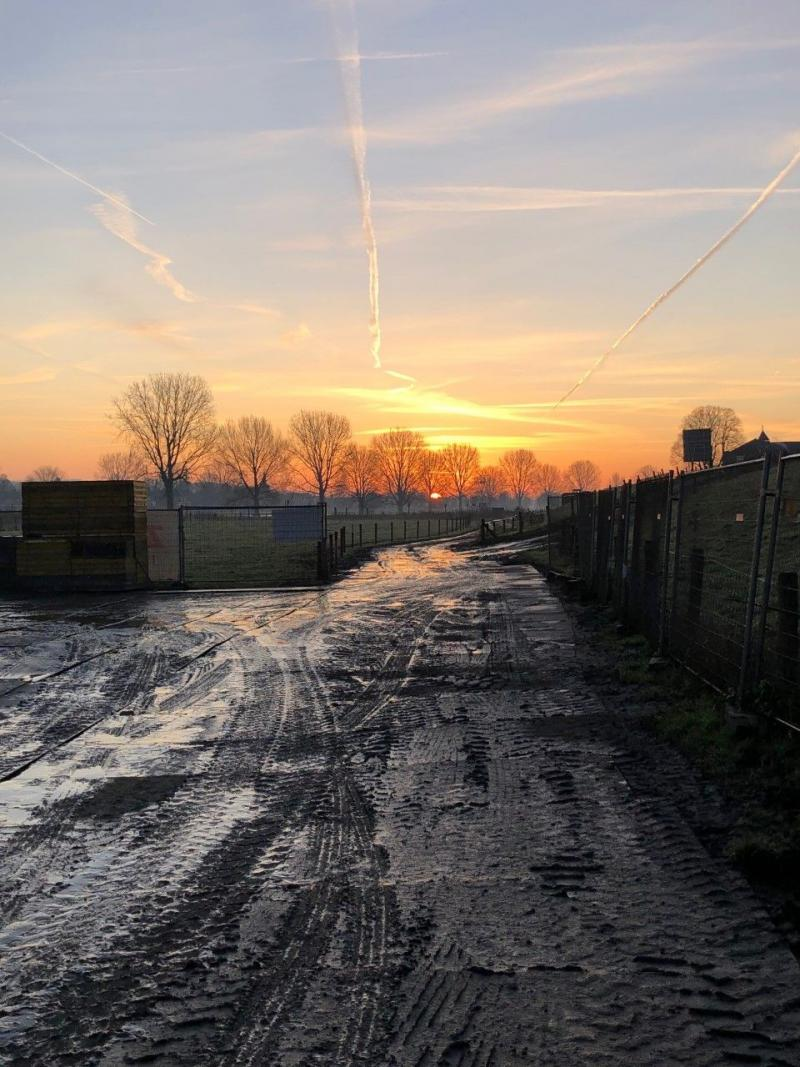 Zonsopkomst in Katwijk (Foto: Charged)