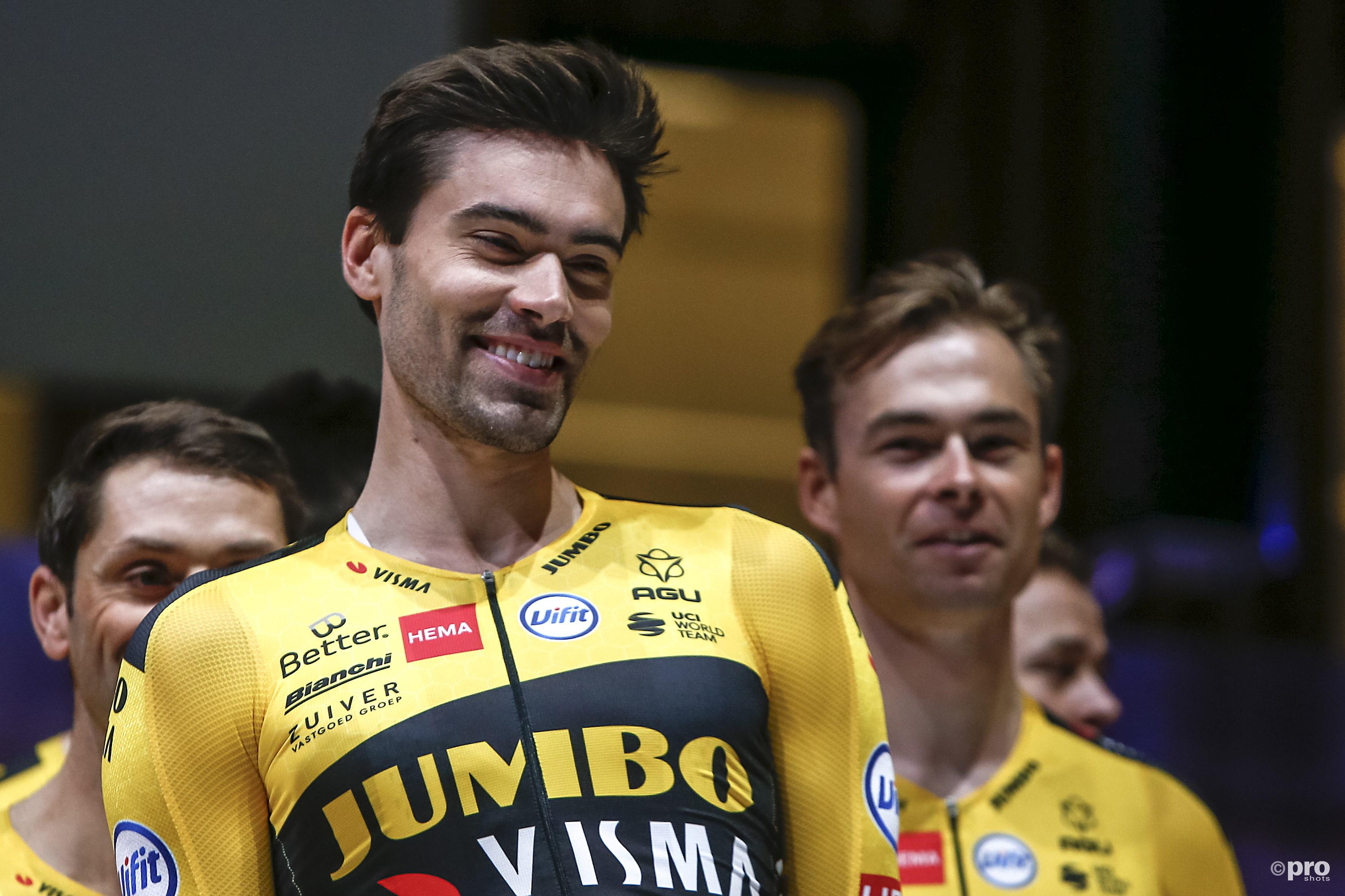 Tom Dumoulin op de ploegpresentatie Team Jumbo-Visma (Pro Shots / Remko Kool)