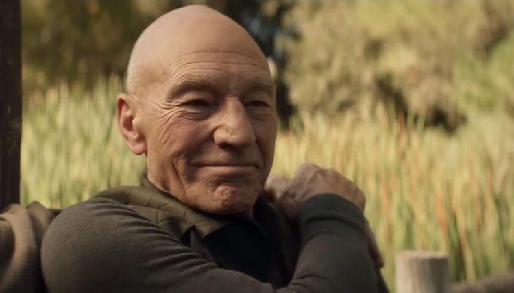 Star Trek Picard smile