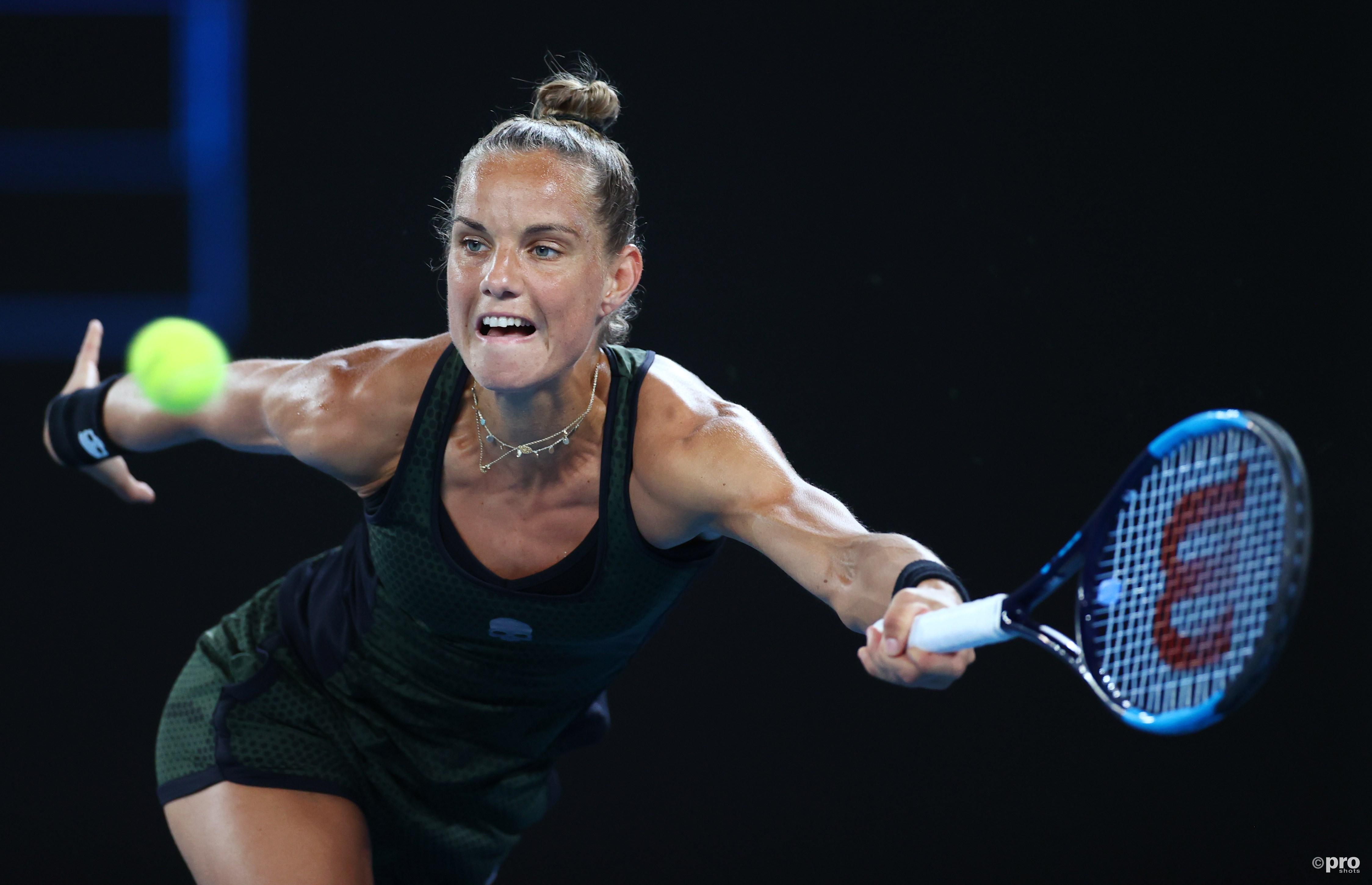 Rus uitgeschakeld op Australian Open ondanks sterk optreden tegen Keys (Pro Shots / Action Images)