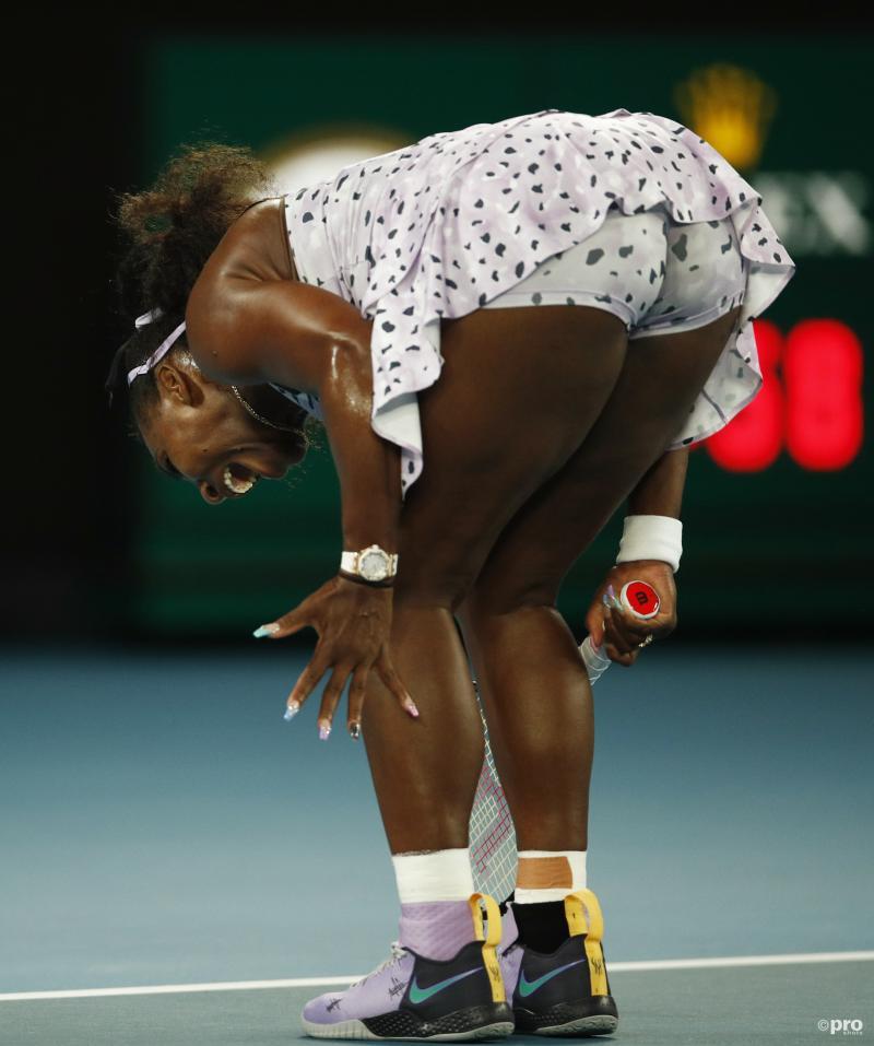 Wat is hier gaande met Serena Williams tijdens de Australian Open? (Pro Shots / Action Images)