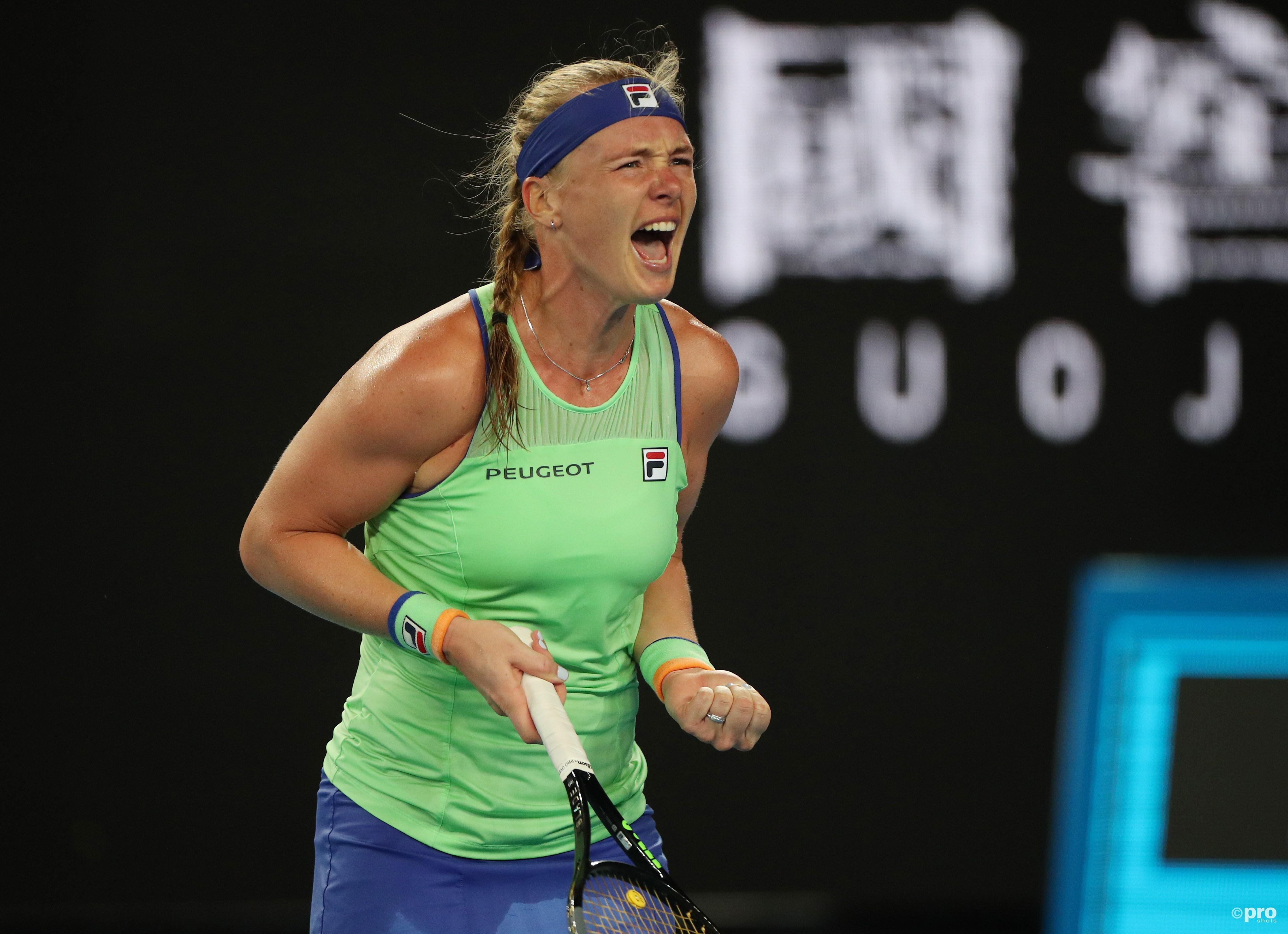 Bertens voor het eerst in carrière naar vierde ronde Australian Open (Pro Shots / Action Images)