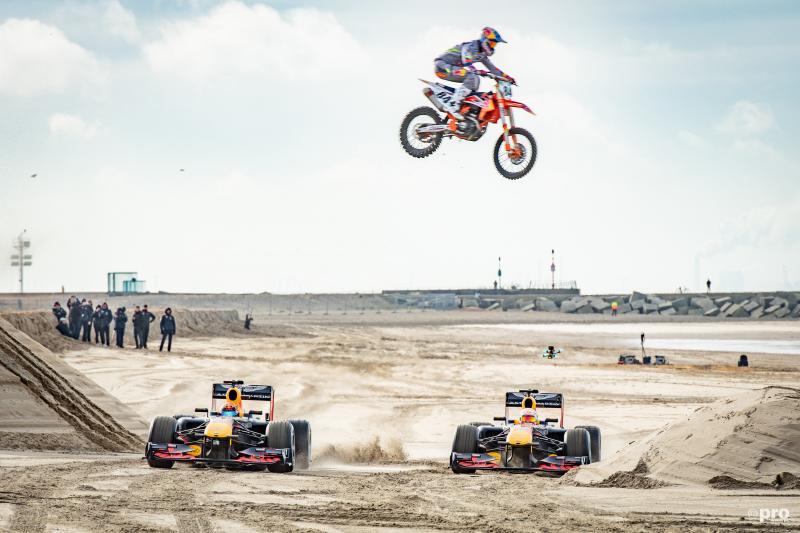 Red Bull op het strand van Scheveningen (Pro Shots / Koen Laureij)