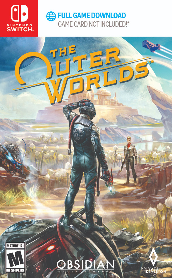 The Outer Worlds - Packshot Switch