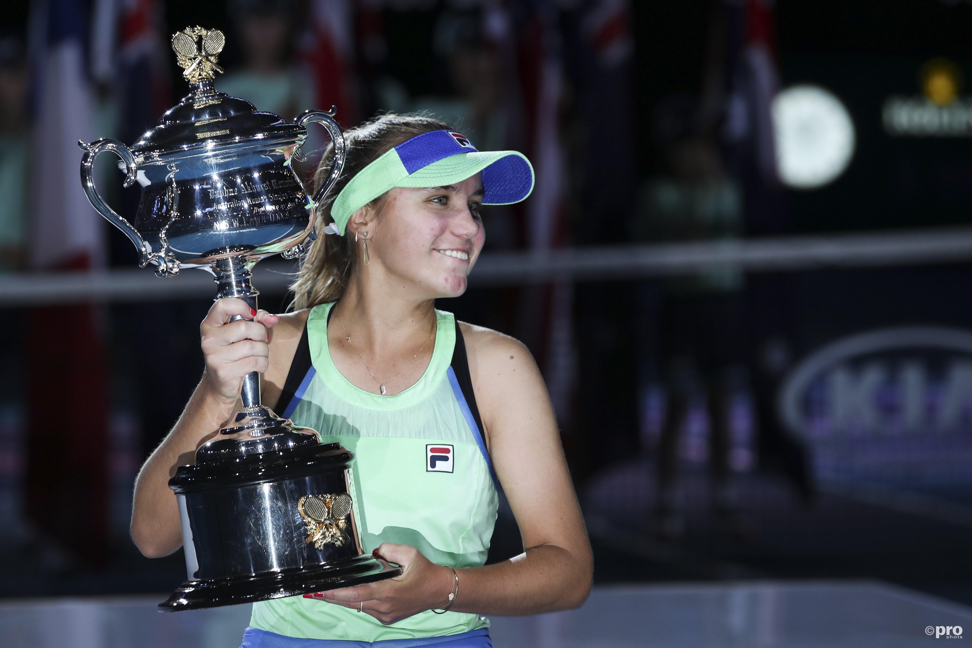 Kenin wint eerste grandslamtitel na spannende Australian Open-finale (Pro Shots / Zuma Press)