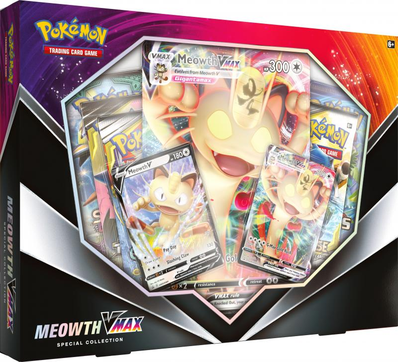 Meowth V Max Special Collection - Pokemon TCG (Foto: The Pokemon Company International )