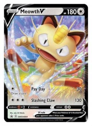 Meowth V - Pokemon TCG (Foto: The Pokemon Company International )