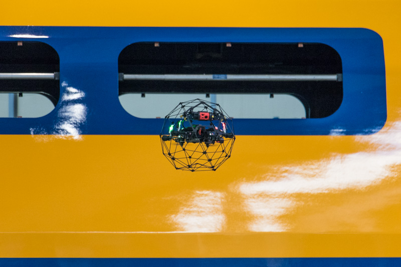 NS Drone in actie