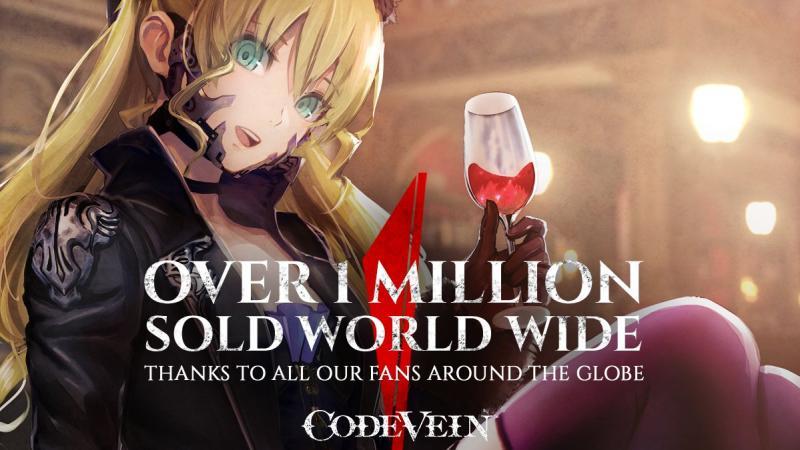 Code Vein tops 1 million sales