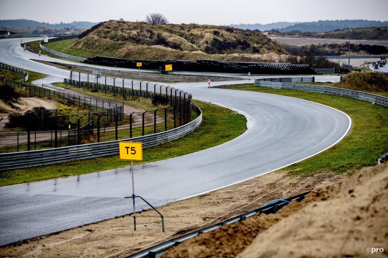 Asfalteren Zandvoort is gereed, het circuit is bijna klaar (Pro Shots / Niels Wenstedt)