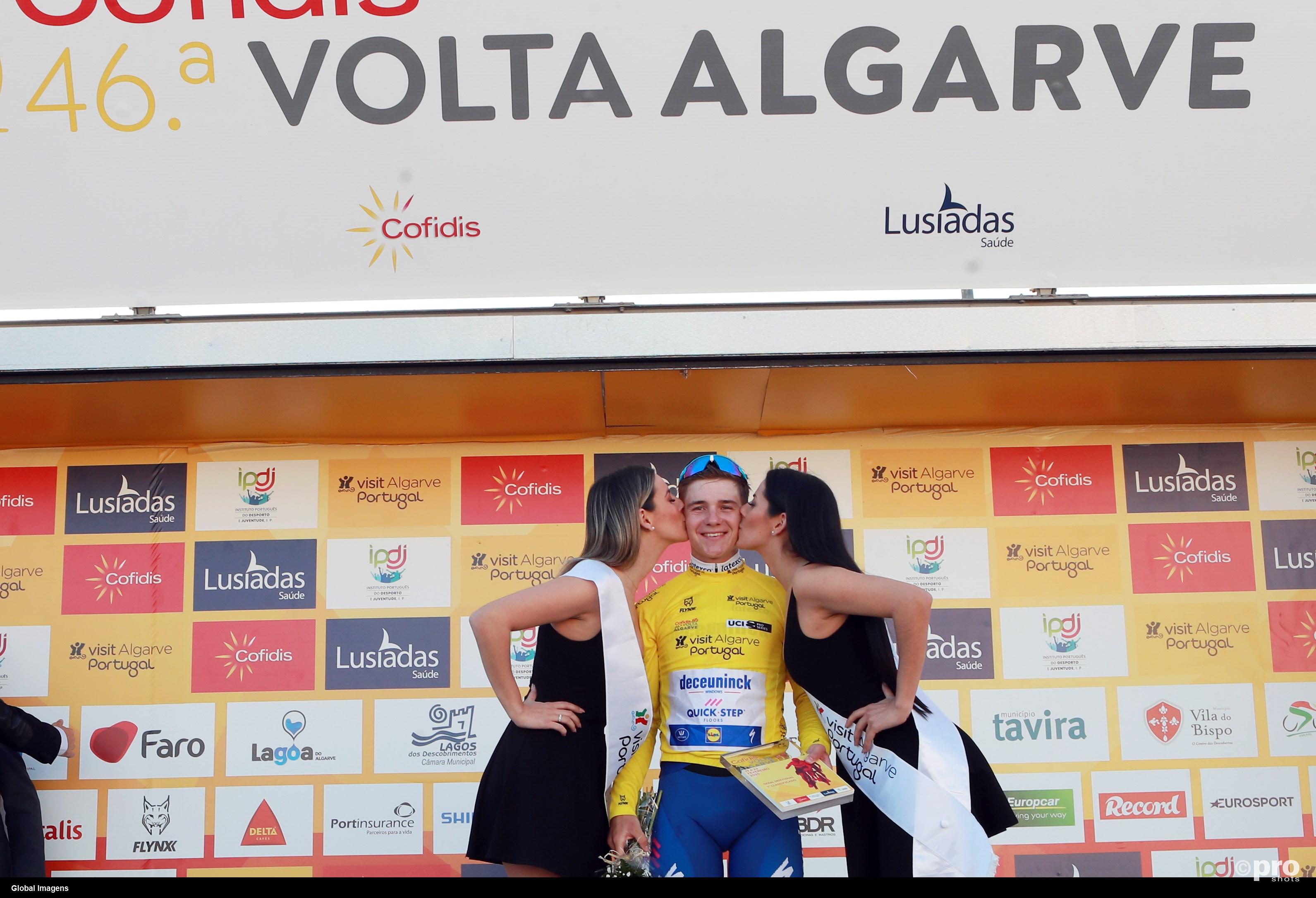 Evenepoel toont zijn klasse opnieuw in de Algarve (Pro Shots / SIPA USA)