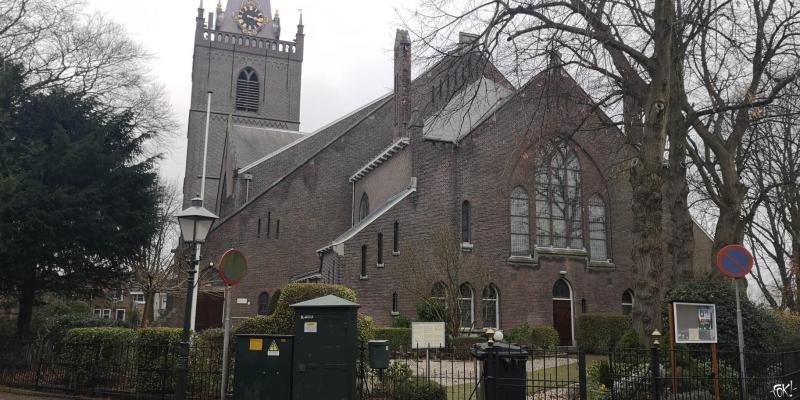 Een kerk in Noord-Holland (Foto:  FOK!/DJMO)
