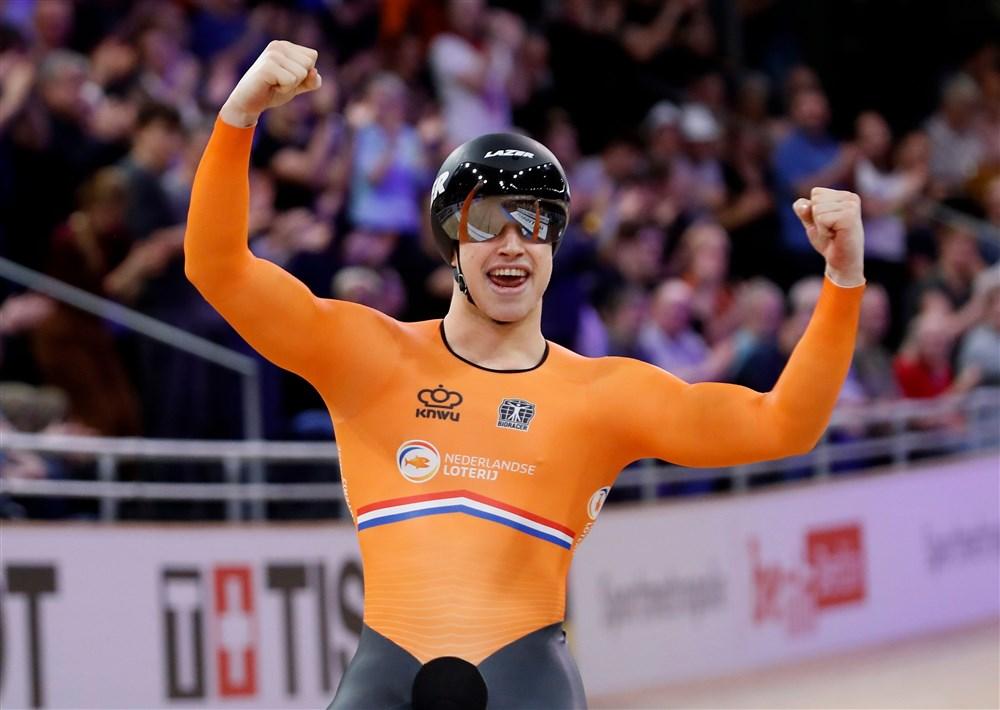 Lavreysen gaat als dubbel wereldkampioen naar de Olympische Spelen (Pro Shots/Action Images)