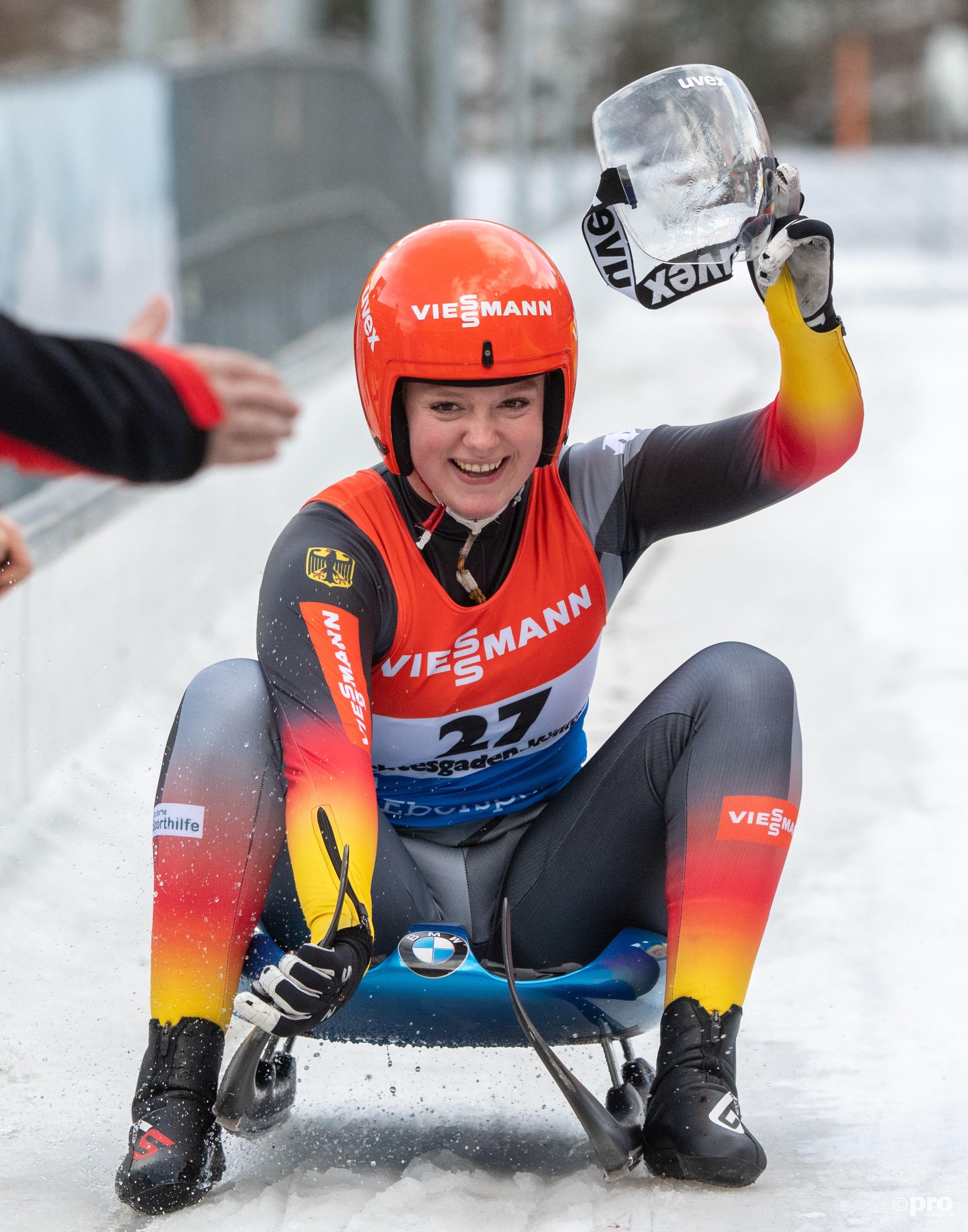 Anna Berreiter wint ook in Königssee (Pro Shots/Zuma Press)