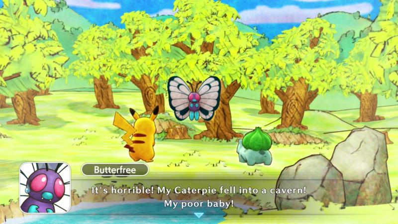 Pokémon Mystery Dungeon DX Screenshot