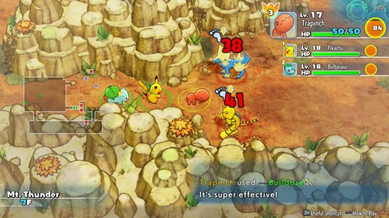 Pokémon Mystery Dungeon DX Screenshot 2