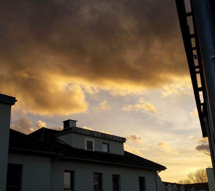 Mooie wolken in Berlijn