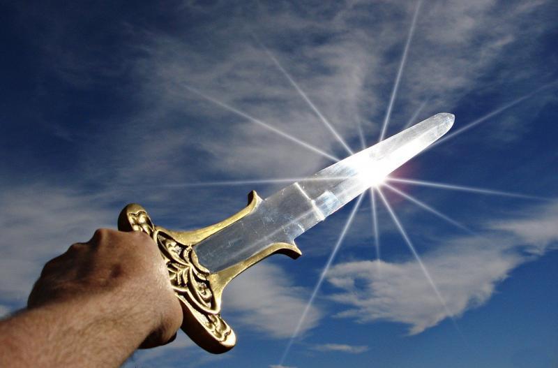 Niet het zwaard uit het verhaal (Afbeelding: Pixabay)
