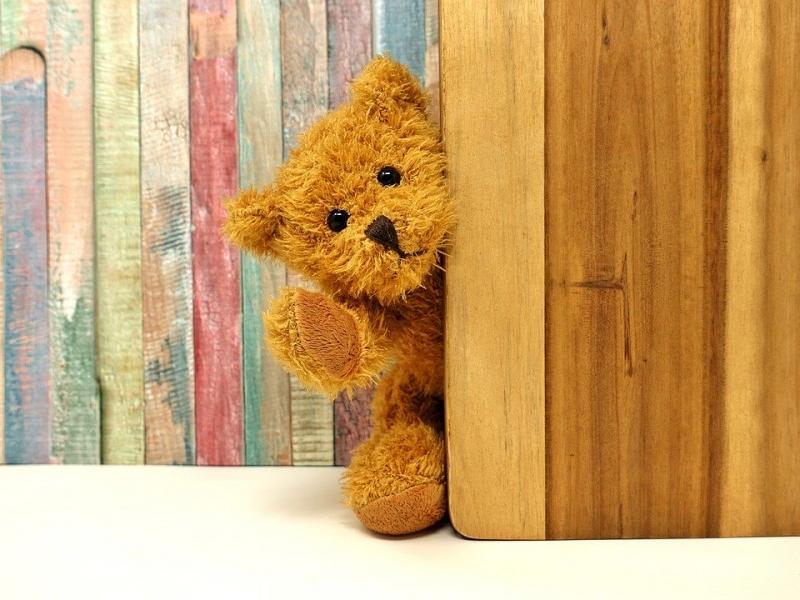 Zet een beer voor je raam!