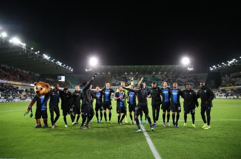 Belgische competitie gestopt, Club Brugge kampioen (Pro Shots / Isosport)