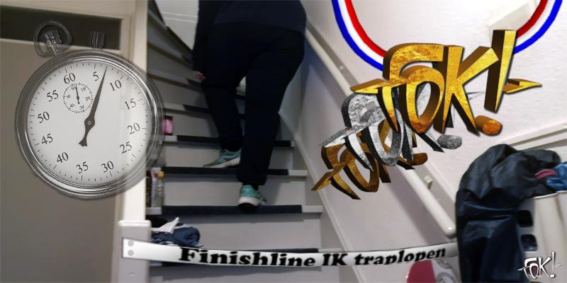 FOK! organiseert het IK Traplopen!  (Foto: FOK!)