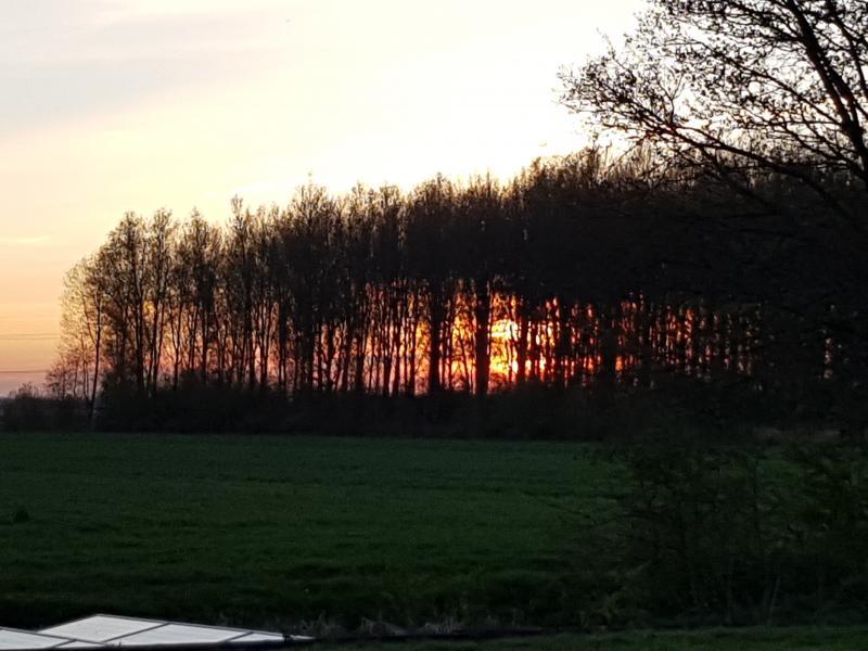 Van Michaël kregen we deze foto nabij Linschoten doorgestuurd (Foto: Michaël)