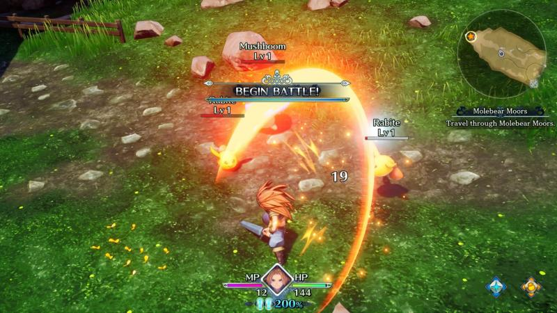 Trials of Mana - Battle (Foto: Square Enix)