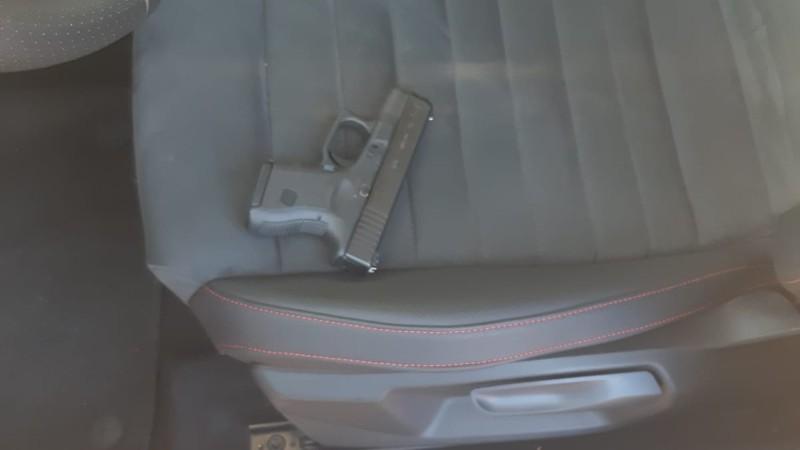 Het vuurwapen in kwestie (Afbeelding: Politie)