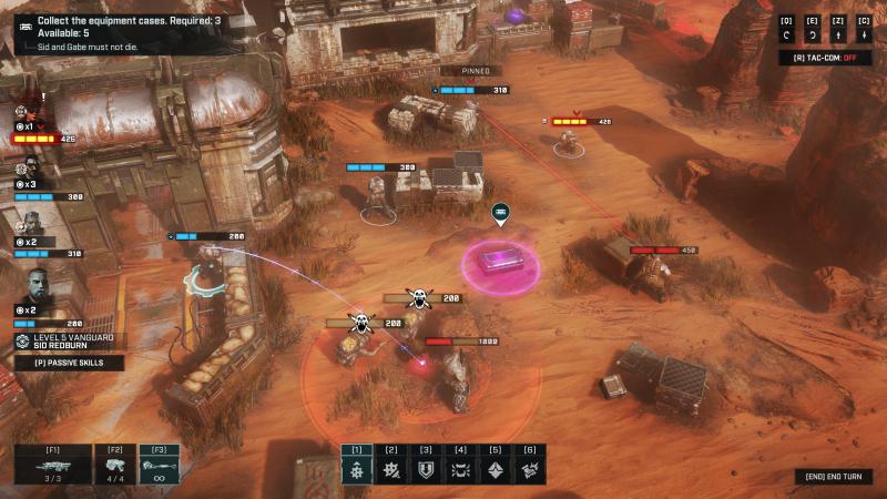 Gears Tactics Combat