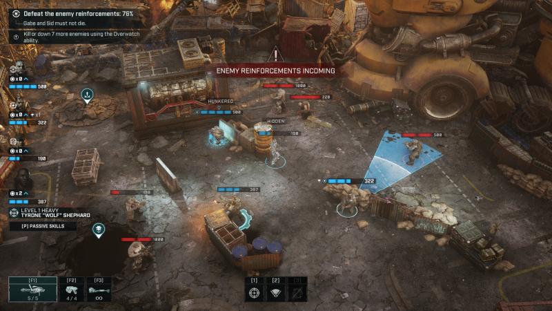 Gears Tactics Combat + Overwatch