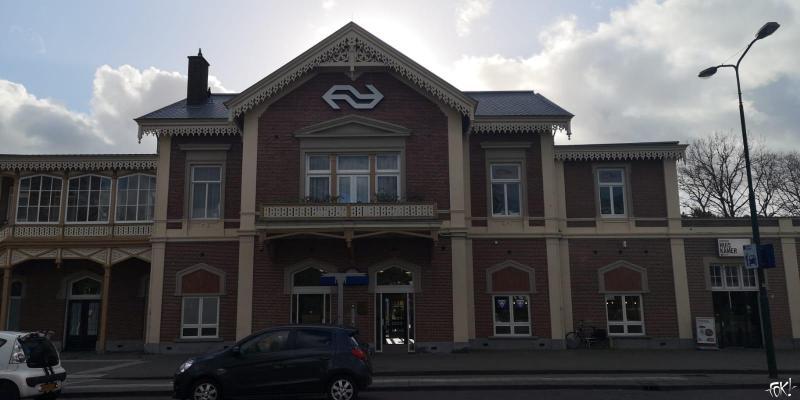 Baarn heeft best een mooi station (Foto: FOK!)