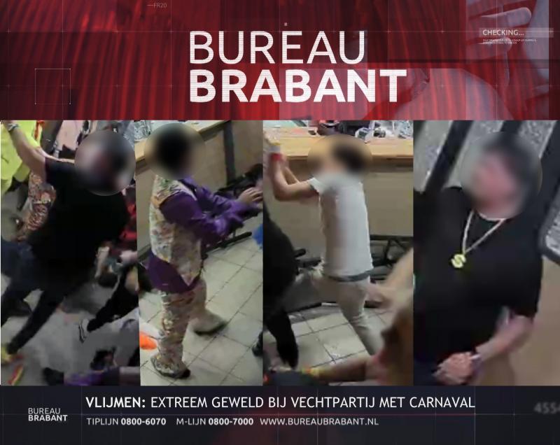 Kopschoppers in Bureau Brabant (Afbeelding: Politie)