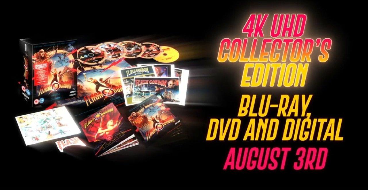 Flash Gordon 4K collectors edition