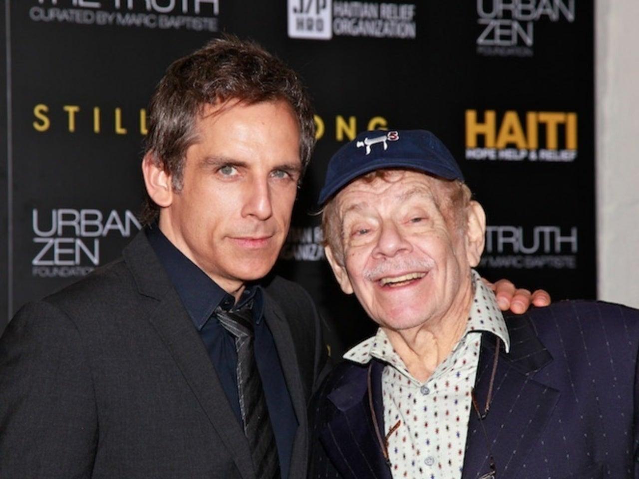 Ben Stiller en Jerry Stiller