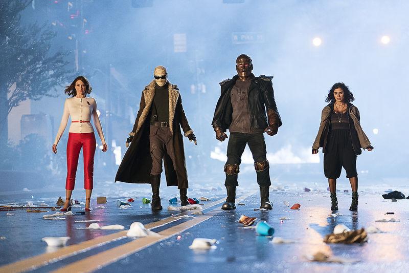 Doom Patrol: April Bowlby, Matthew Zuk, Riley Shanahan, Diane Guerrero