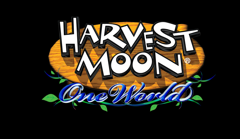 Harvest Moon: One World - Logo