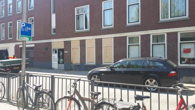 De bewuste woning aan de Jachthuisstraat in Rotterdam  (Foto: FOK!)