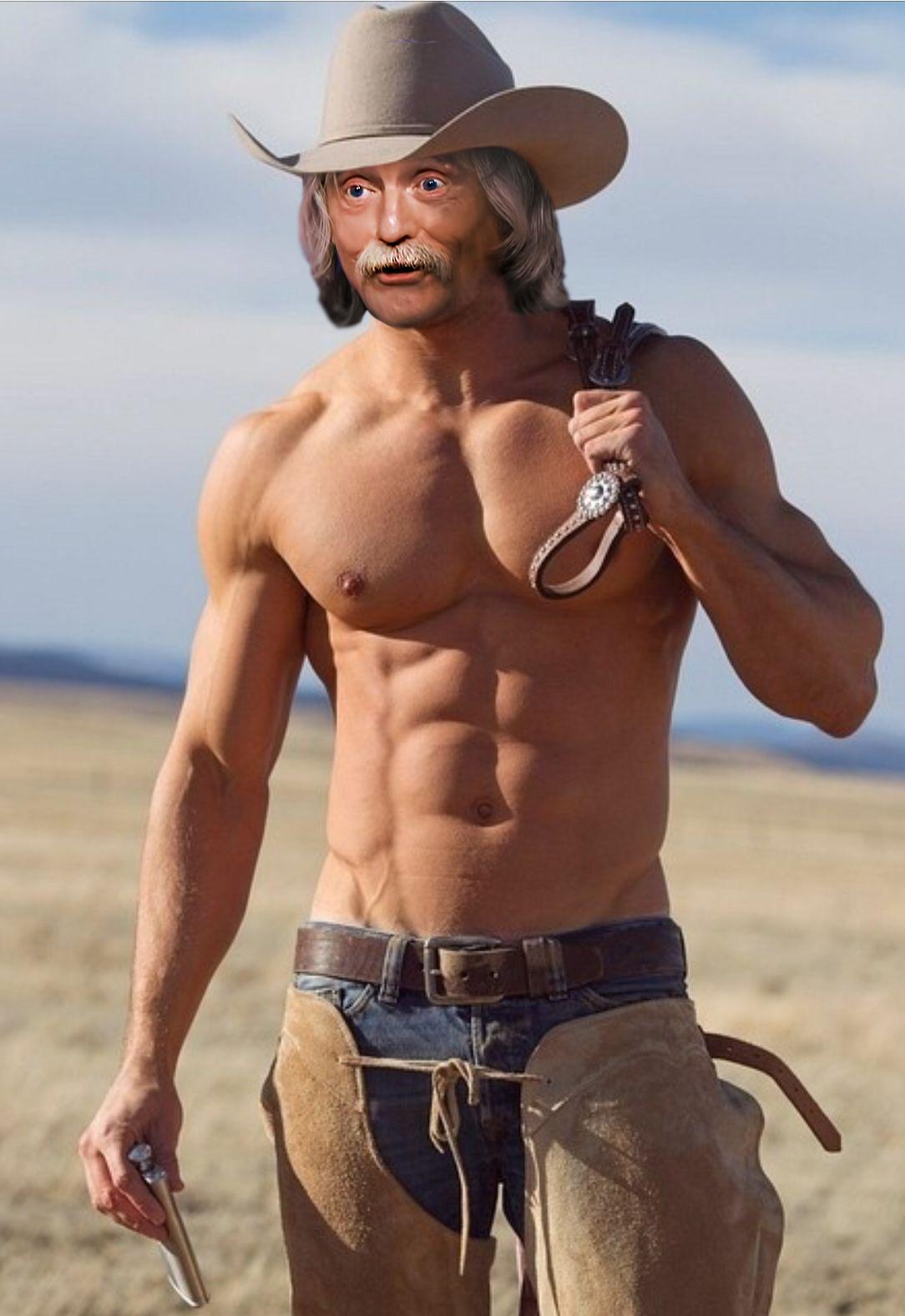 Derksen blijkt ook een posterwaardige cowboy zag ToT.