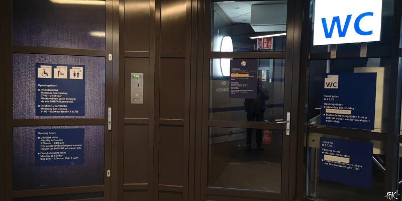 Aangepaste openingstijden openbare toiletten op Sloterdijk  (Foto: FOK!)