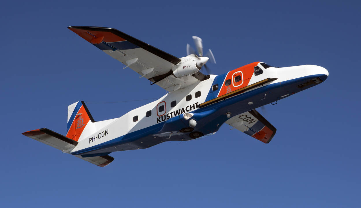 Patrouillevliegtuig Dornier 228-212 (foto: Ministerie van Defensie)