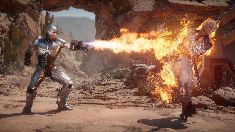 Mortal Kombat 11 Aftermath - Robocop (Foto: Warner Bros Interactive)