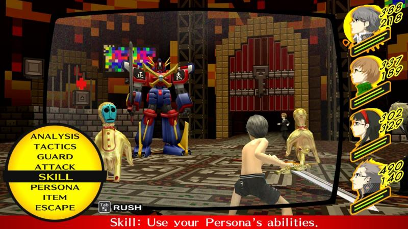 Persona 4 Golden PC - Combat (Foto: SEGA)