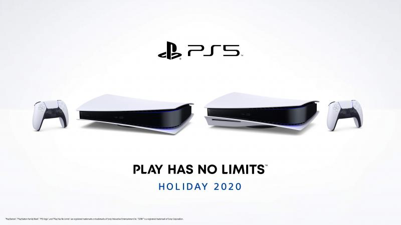 PlayStation 5 - liggend (Foto: Sony)