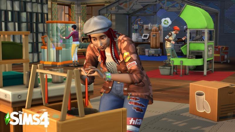 De Sims 4: Ecologisch Leven - Kaarsen (Foto: Electronic Arts)