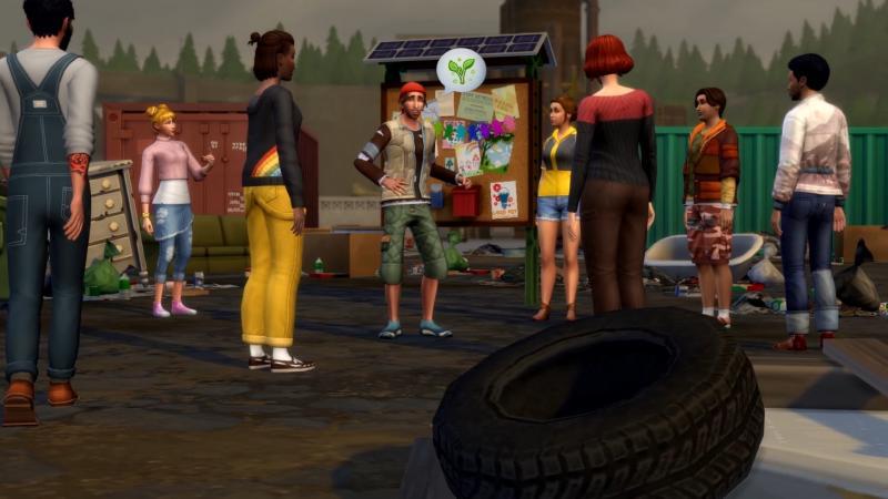 De Sims 4: Ecologisch Leven - Voting (Foto: Electronic Arts)