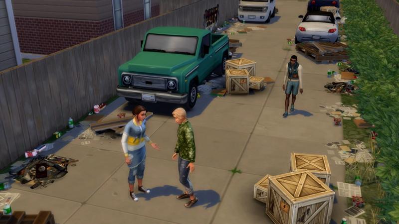 De Sims 4: Ecologisch Leven - Straat (Foto: Electronic Arts)