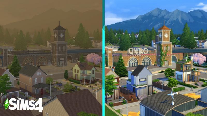 De Sims 4: Ecologisch Leven - Groen/vervuild (Foto: Electronic Arts)