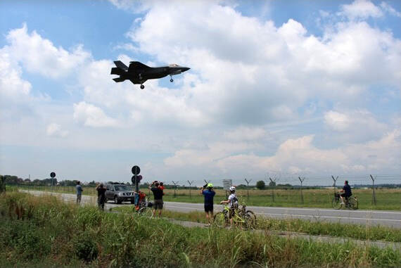 Testvlucht F-35 (foto: Ministerie van Defensie)